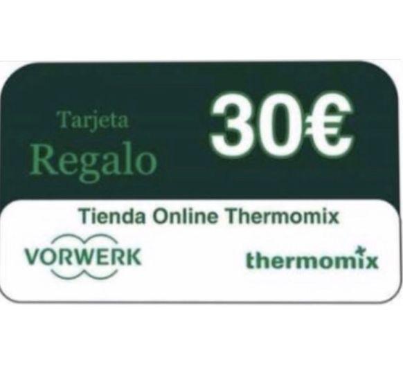 ¿QUIERES GANAR UN CHEQUE DE 30€ PARA GASTAR EN LA TIENDA ONLINE DE Thermomix® ?
