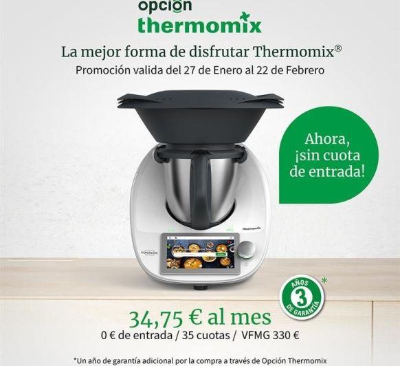 CONSIGUE TU Thermomix® TM6 SIN ENTRADA POR SOLO 34,75€