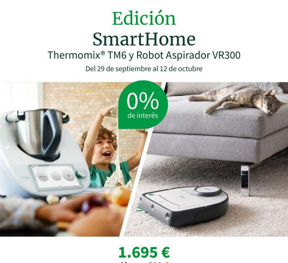 COMPRAR Thermomix® TM6 + ROBOT ASPIRADOR KOBOLD VR300 POR SOLO 48€ AL MES