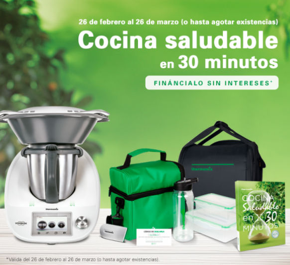 Financiacion sin intereses lo mas esperado con Thermomix® todo es posible