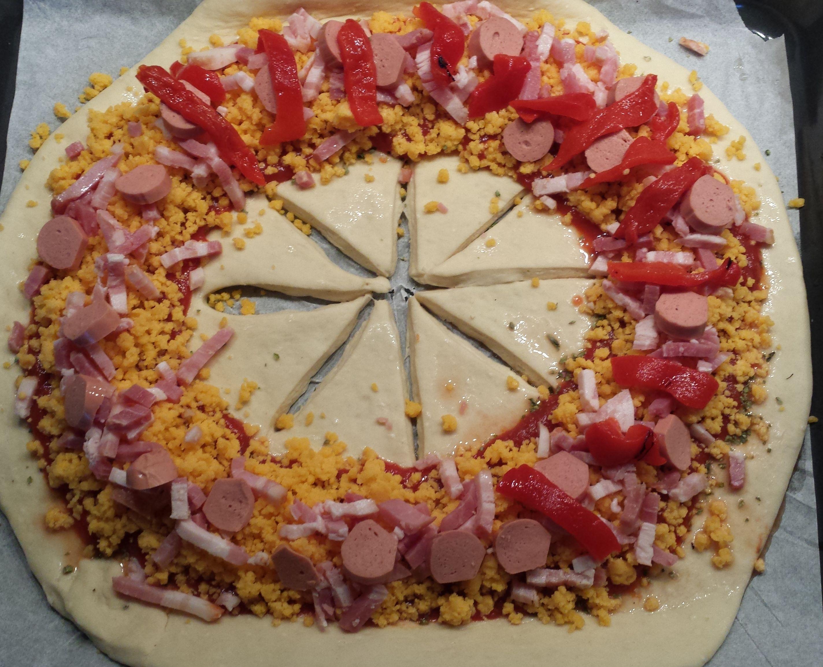 Flor de Pizza con Thermomix®