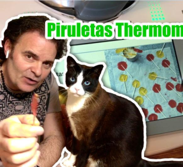 Vídeo de Piruletas de caramelo en Thermomix® TM6
