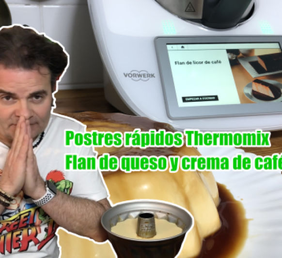 Postres de menos de 10 minutos (vídeo) Thermomix® TM6