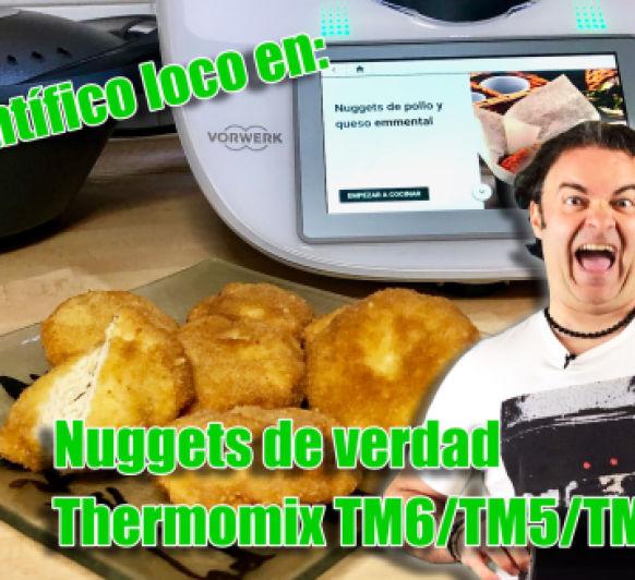 Científico loco en: Nuggets de verdad con Thermomix® TM6