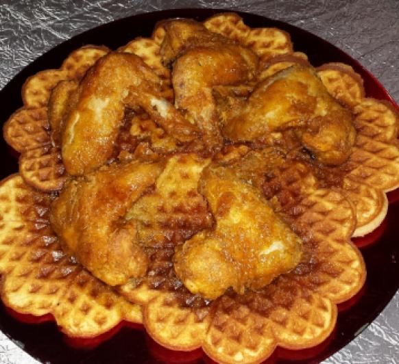 Pollo Frito & Gofres con Thermomix®