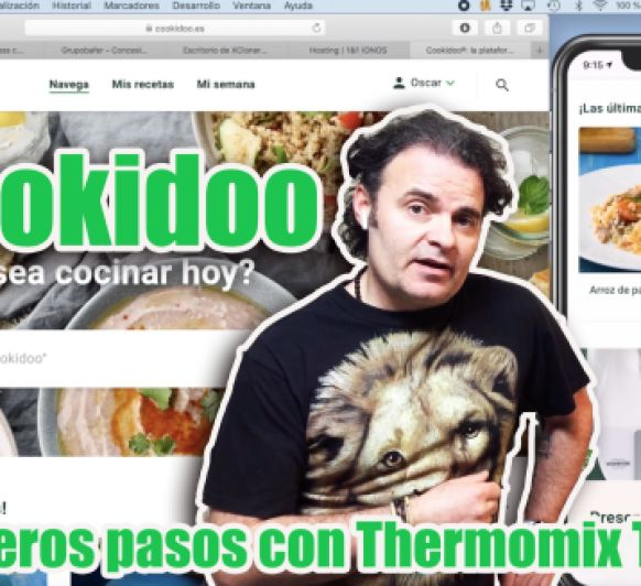 Conociendo Cookidoo y arrancando Thermomix® TM6