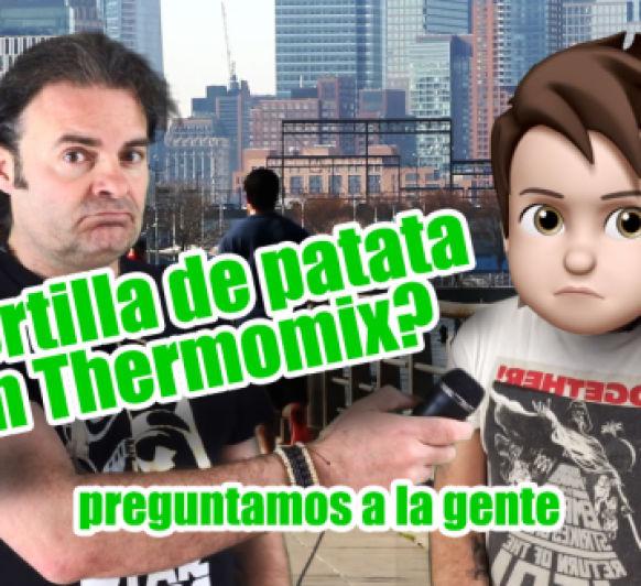 ¿Tortilla de patata con morcilla de Burgos en Thermomix® TM6? preguntamos a la gente
