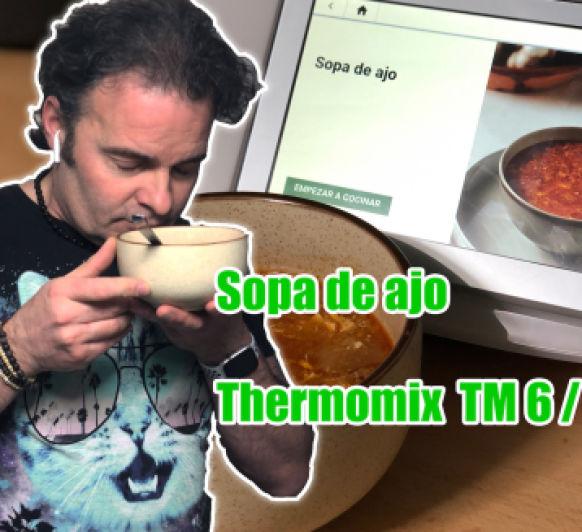 Sopa de Ajo en Thermomix® TM6: una entre 40.000