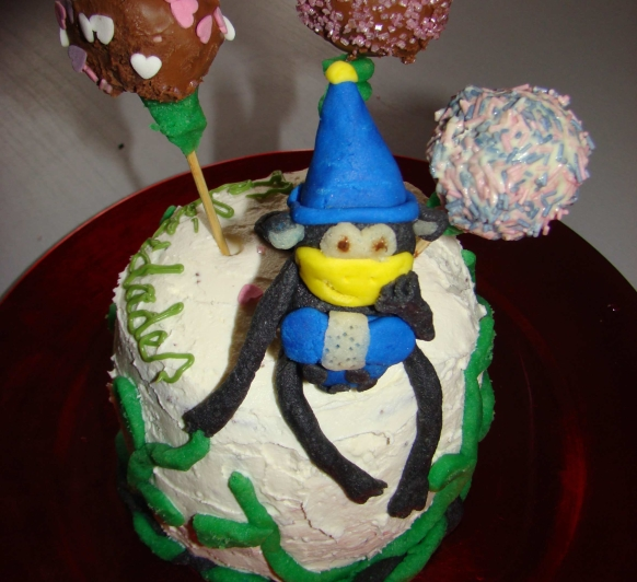 Tarta de Cumpleaños con Thermomix®