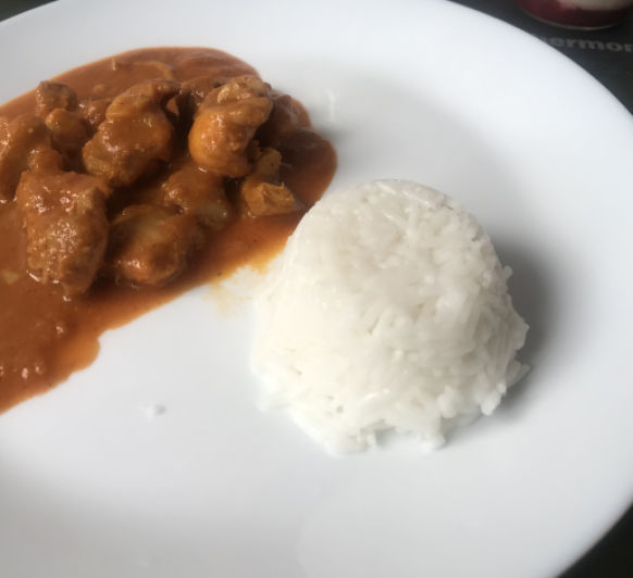 CURRY CREMOSO DE POLLO